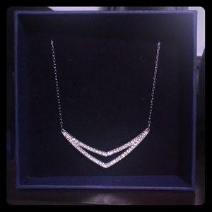 Silver Swarovski Necklace